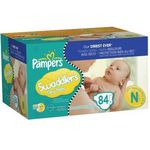 Pampers Swaddlers New Baby Diapers