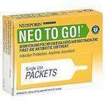 Neosporin Neo to Go Single Use Packets