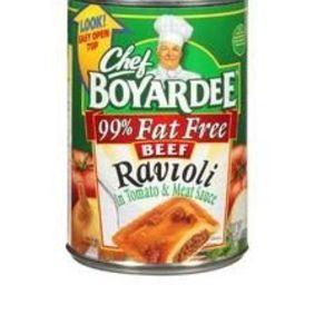 Chef Boyardee 99% Fat Free Beef Ravioli