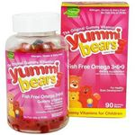 Hero Yummi Bears Fish Free Omega 3-6-9 Gummy Vitamins for Children