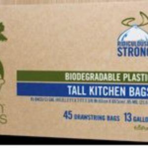 Green Genius Biodegradable Plastic Tall Kitchen Bags