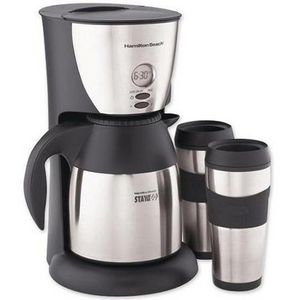 Hamilton Beach Stay-or-Go 8-Cup Coffee Maker