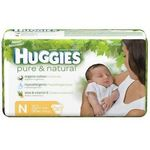 Huggies Pure & Natural Newborn Diapers