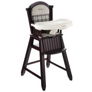 Eddie Bauer Newport Collection Wood High Chair