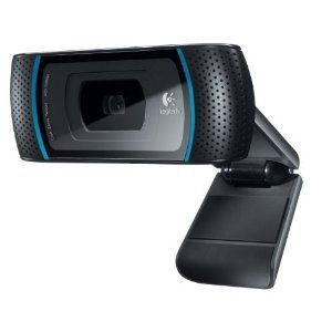 Logitech - HD Pro Webcam C910 with 1080p Video