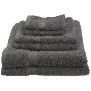 Pike Street 100-Percent Egyptian Cotton 725-Gram 6-Piece Towel Set