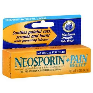 Neosporin Plus Pain Relief Maximum Strength Antibiotic/Pain Relieving Cream