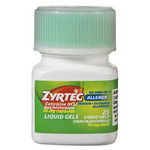 Zyrtec Allergy Liquid Gels