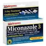 Walgreens Miconazole 3 Vaginal Antifungal
