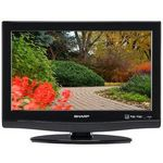 Sharp - in. LCD TV