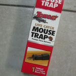 Tomcat Single Live Catch Mouse Trap