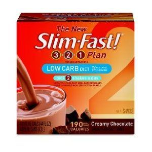 Slim-Fast Low-Carb Ready To Drink Shakes, Creamy Chocolate ...