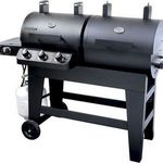 Brinkmann Dual Function Propane Grill & Charcoal Smoker 810-3820-S