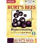 Burt's Bees Rejuvenating Lip Balm with Acai Berry