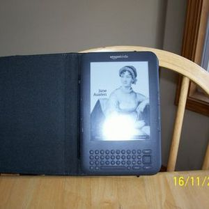 Kindle - Lighted Leather Cover