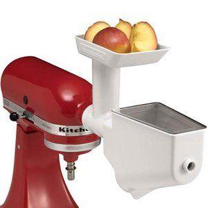 KitchenAid Fruit/Vegetable Strainer and Food Grinder for Stand Mixers FVSFGA