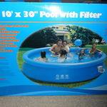 "Kids Stuff 10' x 30"" Pool with Filter"