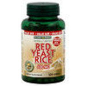 Nature's Bounty Red Yeast Rice 600 mg, 120 capsules