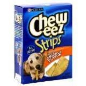 Purina Chew-eez Strips - Savory Chicken Flavor