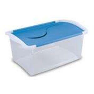 Sterilite 3 Qt. & 7 Qt. Hinged Lid Storage Boxes