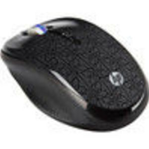 Hewlett Packard HP WE791AAABA Mouse - Optical Wireless - Gray Radio Frequency - USB - Scroll Wheel (WE791AA#ABA)