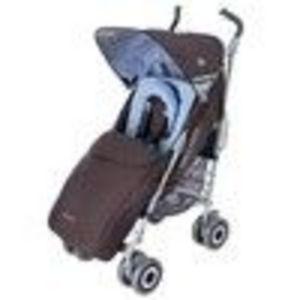 Techno XLR Umbrella Stroller - Coffee Brown/Soft Blue