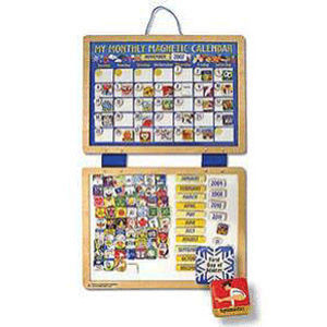 Melissa & Doug My Monthly Magnetic Calendar