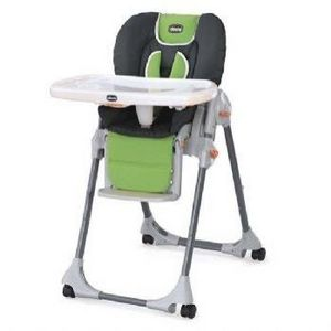 Chicco Polly Double-Pad Highchair