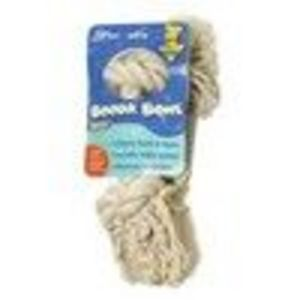 """Aspen Booda Bone X-Large White Rope Dog Toy (X-Large; 14"""" Length; White; 2-Knot; for Dogs Over 45lb.)"""