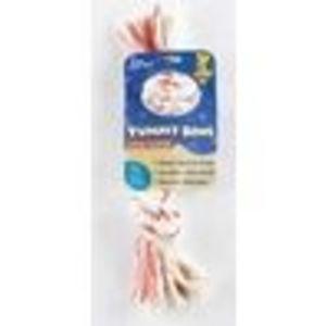 Aspen Yummy Rope Dog Bone Steak Lg