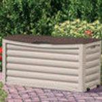 Suncast 83 gallon patio storage box