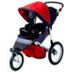 InSTEP SC506 Jogger Stroller - Red / Black