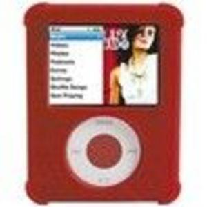 iFrogz AudioWrapz Case Sleeve Case (N3GIFROGZ-15) for iPod nano 3G - Red