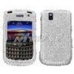 Blackberry 9630 Tour, 9650 Bold Diamante Phone Protector Cover