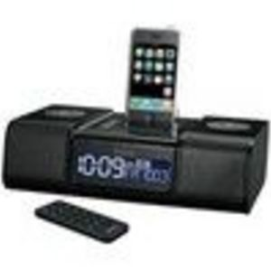 iHome iP9 Clock Radio for iPhone & iPod - IP9B6R
