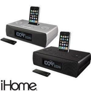 iHome - iP87 Dual Alarm Clock Radio for iPhone/iPod