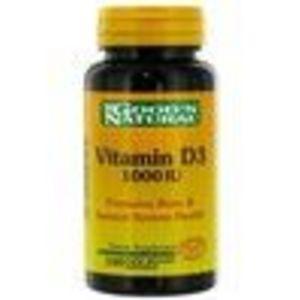 Good N Natural Vitamin D3 1000 IU, 100 Tablets (Good 'N Natural)