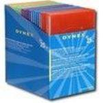 Dynex DX-DVD25B - Storage DVD slim jewel case - capacity: 1 DVD - multicolor (pack of 25) Media