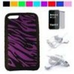 Zebra Ipod Touch 2nd and 3rd generation 64GB 32G 16GB Silicone Skin + Mirror Screen Protector + itouch 2G ...