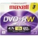 Maxell (634043) 4x DVD+RW Storage Media