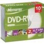Imation - 10 x DVD-RW - 4.7 GB - storage media (05512) 48x (10 Pack)