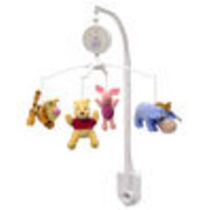 Disney Pooh Sweet Pooh Musical Mobile, Pink/White