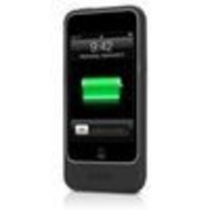 Mophie 1110_JPAT2-BLK Juice Pack Air Case and Rechargeable Battery for iPod Touch 2G,3G - Black