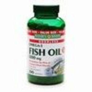 Nature's Bounty Omega-3 Fish Oil 1200mg 200 softgels (Nature's Bounty)