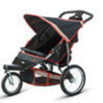 InSTEP Mall Cruiser Double KS288 Jogger Stroller