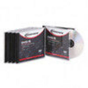 Innovera DVD-R Recordable Discs 4.7GB 16x Silver Jewel Case 5/PK (IVR46805) 16x Media
