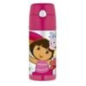 Thermos Funtainer Straw Bottle, Dora The Explorer, 12 Ounce