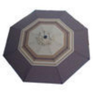 Bond 9 Foot Decorative Vented Market Umbrella with Crank and Tilt - Marquee (Bond Manufacturing)