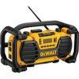 DEWALT DC011 Combination Worksite Radio and 7.2-Volt to 18-Volt Pod Style Battery Charger