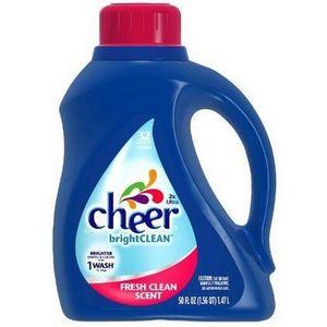 Cheer Bright Clean Laundry Detergent